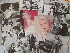 GRACE KELLY _GRACE de MONACO_ clippings _collezione di immagini d'epoca