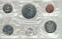 1985 Uncirculated Canada Coin Proof Like Set - Superfleas