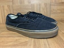 RARE🔥 VANS Authentic Black HEMP RASTA Sneakers Sz 10.5 Men's Shoes Skateboardin