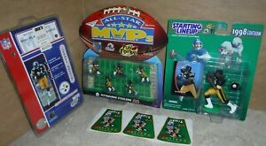 PITTSBURGH STEELERS JEROME BETTIS LOT MUSTARD LABELS STARTING LINEUPS STANDEES