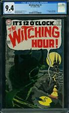 Witching Hour #1 CGC 9.4 DC 1969 1st Mordred! Neal Adams! Key Horror! G9 325 cm