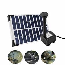 5W Bomba Solar Fuente de Estanque Jardín Juego Agua