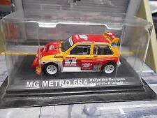 MG Austin Metro 6R4 Gr.B Rallye Garrigues #7 Auriol 33 Export IXO Altaya 1:43