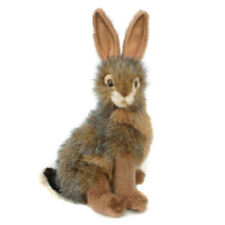 Jack Rabbit collectable plush realistic soft toy by Hansa - 22cm