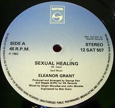 """Eleanor Grant Sexual Healing/Name Your Game 12""""UK ORIG'83 Satril 12SAT 507 VINYL"""