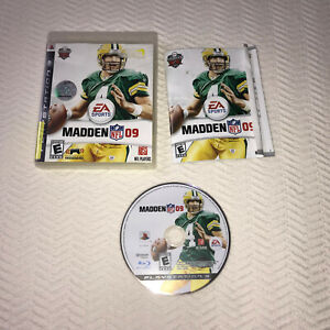 Madden NFL 09 Sony PlayStation 3 2008 EA Sports Complete Rated E for Everyone