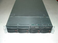 Supermicro 2U X7DBE+ 2x Xeon E5450 3ghz Quad Core / 32gb / 8x Trays