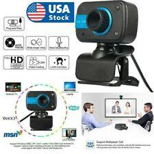 Rotatable HD Webcam USB Camera Video Recording Web Camera With Microphone F4X4