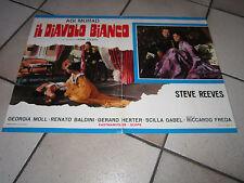 FOTOBUSTA  AGI MURAD IL DIAVOLO BIANCO STEVE REEVES RICCARDO FREDA