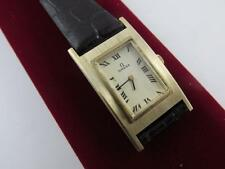 Vintage 14k Solid Yellow Gold 17 Jewel Ladies Omega Watch 620 Mvt Serviced