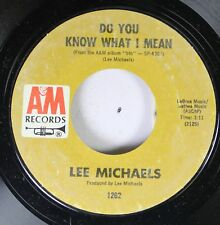 Rock Nm! 45 Lee Michaels - Know What I Mean / Circle Turning On A & March Record