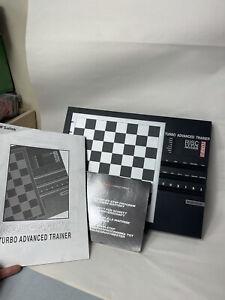 Saitek Kasparov Turbo Advanced Trainer - Electronic Chess Computer - Working