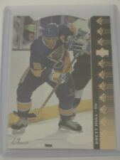 1994-95 Upper Deck UD SP Insert Die Cut #SP-66 Brett Hull St Louis Blues Card