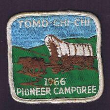 119 Tomo-Chi-Chi Sponsored 1996 Pioneer Camporee WHT Brd BLU/GRN Bkg 601156