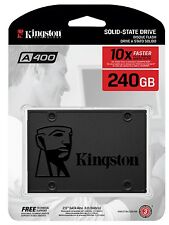 "Kingston 240GB SSD A400 2.5"" SATA III 6 Gb/s 550MB/s 240G SA400S37/240G"