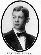 1908 Kansas City High School Yearbook~Photos~Yankees Boston Braves Casey Stengel