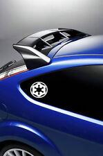 2X Star Wars Galactic Empire car stickers/decals VINYL