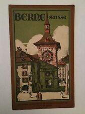 BERNE CAPITALE DE LA SUISSE 1925 ILLUSTRE