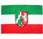 Fahne NRW Querformat 90 x 150 Nordrhein Westfalen Hiss Flagge Bundesland BRD