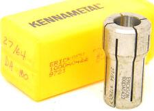 "NEW SURPLUS IN BOX KENNAMETAL ERICKSON DA100 COLLET 27/64"" (.4219"") 100DA0422"