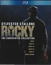 Rocky: The Undisputed Collection (Blu-ray, 2009, 7-Disc set)