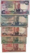 ANGOLA 5 OLD BANKNOTES 1972 LOOK SCANS