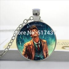 New Glass Necklace Doctor Who Pendant Glass Doctor Who Jewelry Glass Photo Caboc