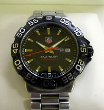 Tag Heuer F1 Formula 1 Gents Watch Black WAH1110 Boxed & Papers