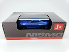 1:64 Kyosho Nissan NISMO Minicar Collection Skyline GT-R GTR Z-Tune R34 BNR Blue