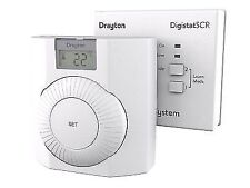 Drayton RF601 RF Wireless Room Thermostat with Digital Display