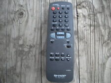 SHARP G1325SA TV VCR CATV Cable Remote Control USED Grey ***TESTED