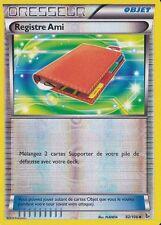 Registre Ami Reverse - XY2:Etincelles - 92/106 - Carte Pokemon Neuve Française