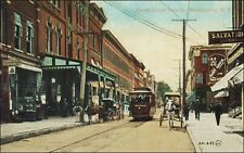 Main Street, Trolley, Horse Drawn, Stores, Middletown, Ny. Pre-1910. Bell Phone