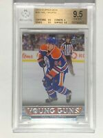 2013-14 Nail Yakupov Upper Deck Young Guns #241 Rookie RC Card BGS 9.5 GEM MINT