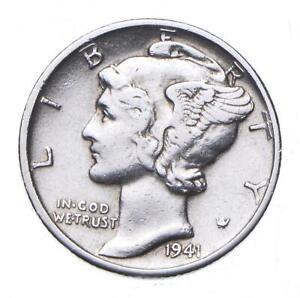 CHOICE - 1941-D Mercury Dime - Mint Marked - TOUGH Coin! *291
