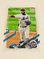 2021 Topps Baseball Base Card #185 - Amed Rosario - New York Mets