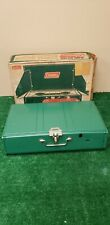 Coleman 413G Camp Stove Very Good Condition 1971 2 Burner (Bfeb-06-059)