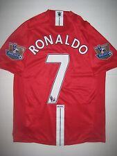Manchester United Cristiano Ronaldo Nike Kit Jersey 2007 Real Madrid/Portugal