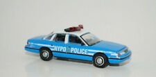 nypd 1993 ford crown victoria police car diecast model GREENLIGHT 1/64 SCALE