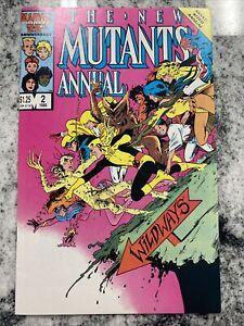 The New Mutants Annual #2 (Jan 1986, Marvel) 9.0 1st app Psylocke - X-Men