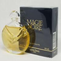 Magie Noire Lancome 1.7 oz 50ml Eau De Toilette SPLASH (Old Formula) Very RARE
