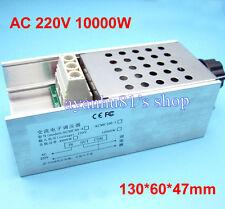 AC 220V 10000W SCR Voltage Regulator Motor Speed Controller Dimmer Thermostat