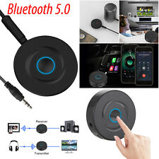 2in1 Music Bluetooth Transmitter & Receiver 5.0 Wireless Audio Adapter 3.5mm Aux