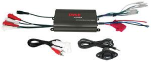 Pyle 4 Channel 800 Watt Waterproof Micro Marine Amplifier (plmrmp3b)