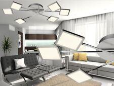 Lámpara de techo LED iluminación salón ESS Habitación 30w 3000lm 3000 Kelvin