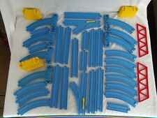 Tomy Trackmaster Blue Track Bundle x 43 Pieces various