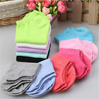 Low Cut 10 Pairs Ladies Short Cotton New Women Ankle Socks Gift Purple Pink