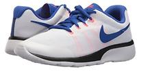 Nike GS Tanjun Racer Sneakers NWB White Blue Pink SZ 5 Big Kid