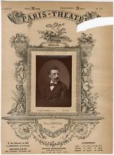 Lemercier et Cie, Paris-Théâtre, Félix-Ludger Rossignol de Joncières dit Victori