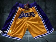 Los Angeles Lakers Yellow Short Sewn